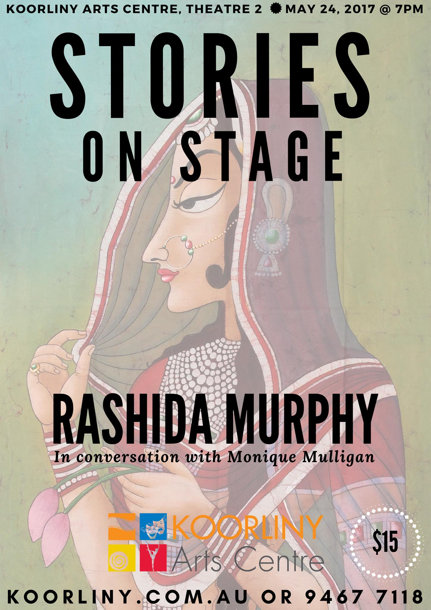 Stories on Stage with Rashida Murphy at Koorliny Arts Centre