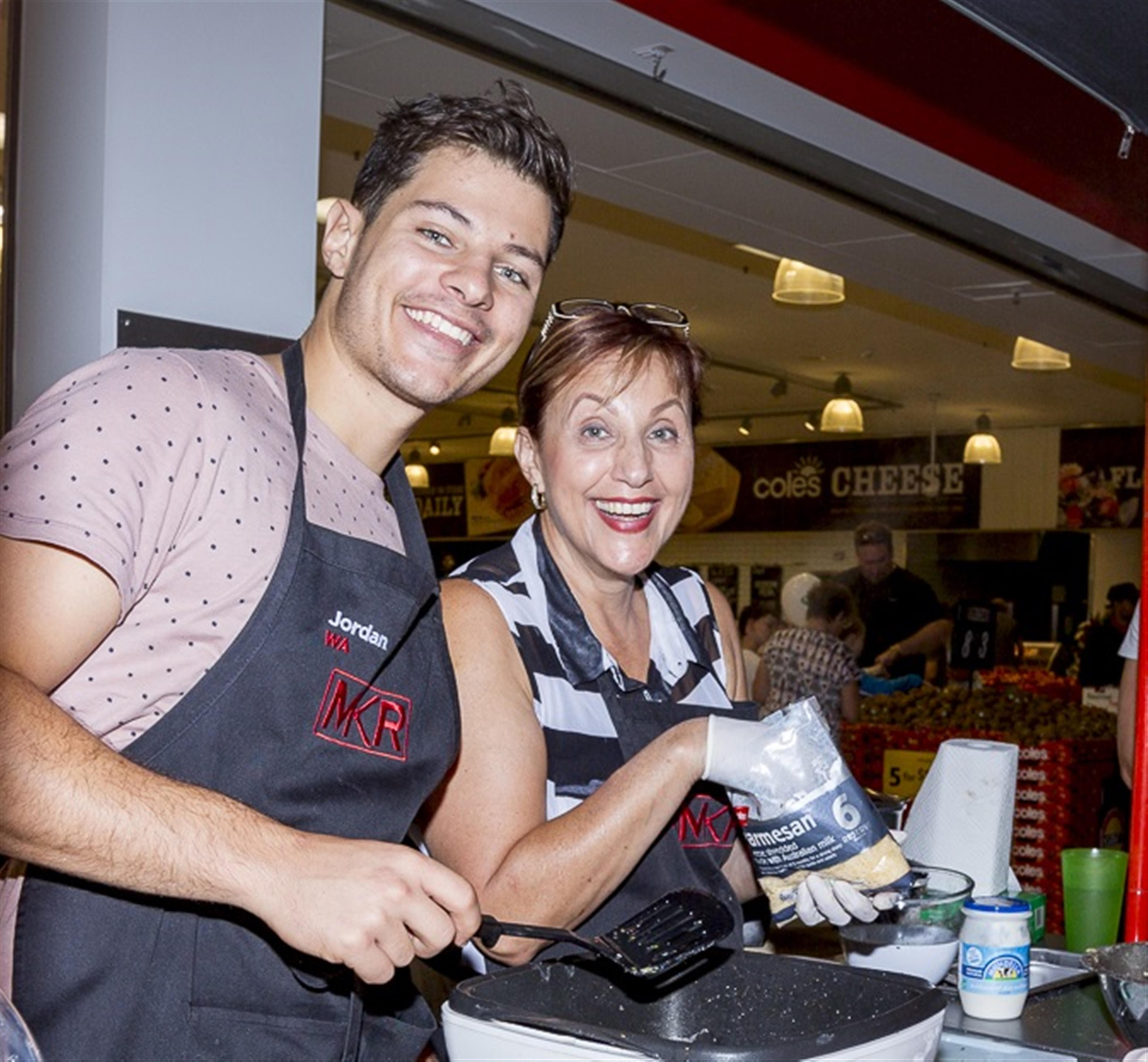 MKR entrants Jordan and Anna Bruno.