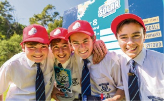 Mazenod team claims Schools Solar Challenge Grand Final
