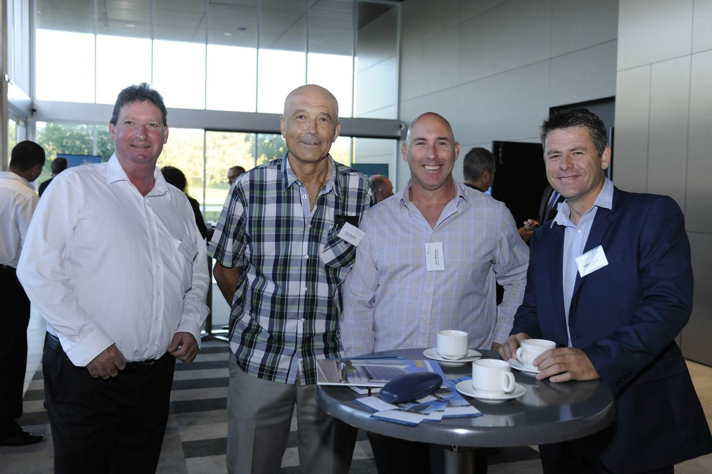 Paul Forrest, Tony Musulin, Alan Mijacika and Robert Clarke. Picture: Chris Kershaw