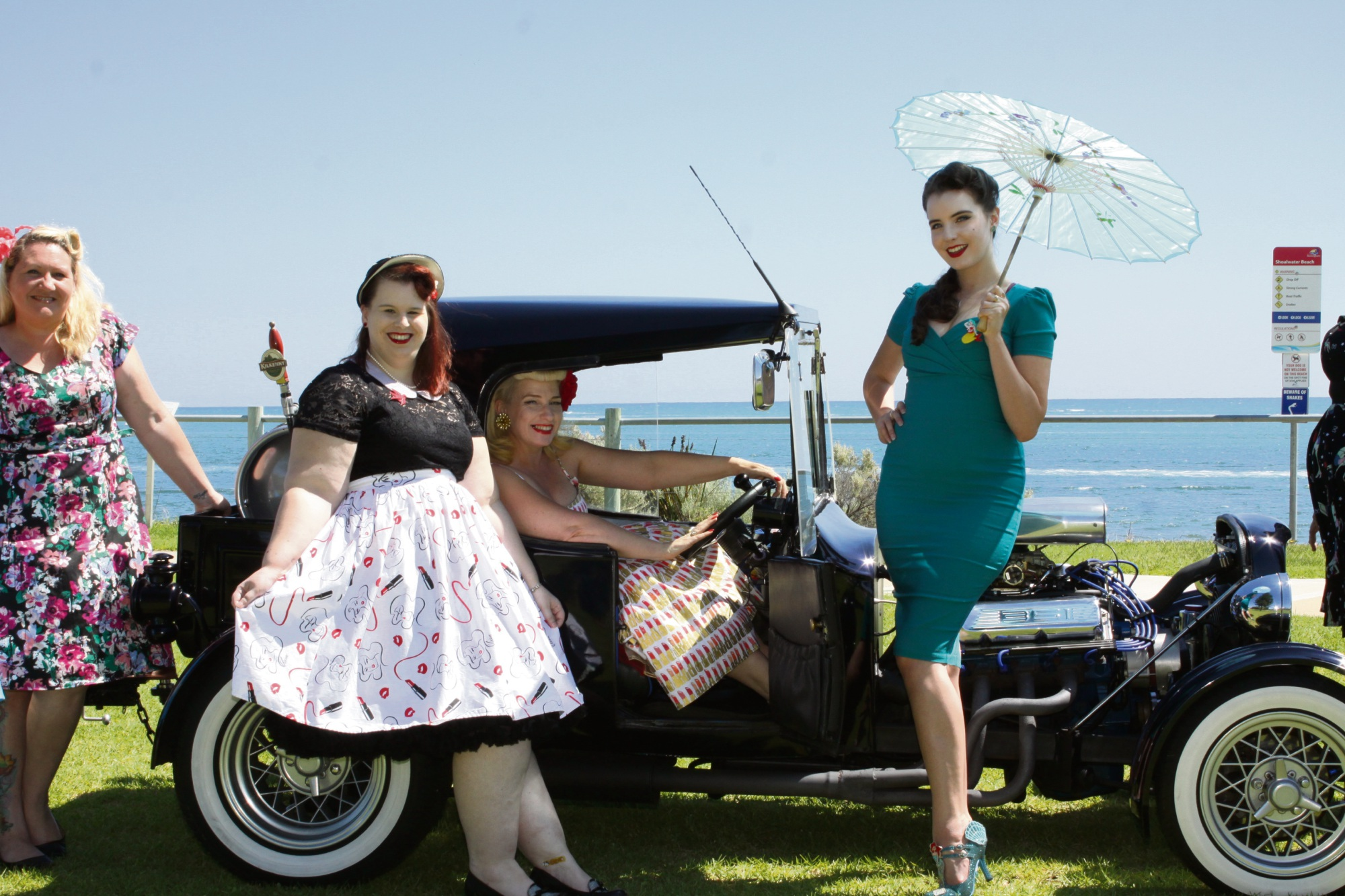 Rockingham's Pretty As A Pin-Up group celebrating first year