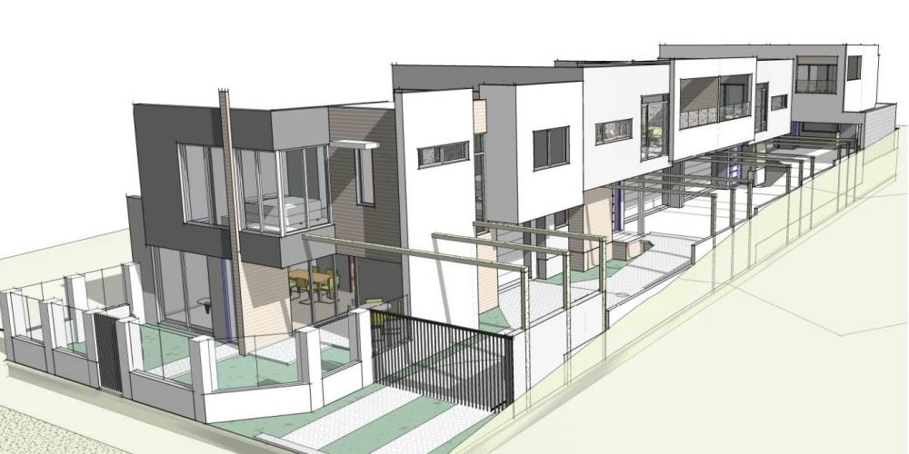 Artist's impression of the West Perth development.