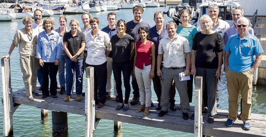 Members of the Ramsar Technical Advisory Group.