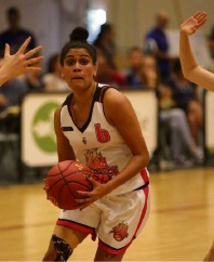 Jacinta Bourne in action against the Joondalup Wolves. Picture: Vikki Hile