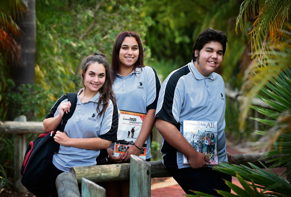 Swan View SHS students return from following their dreams in Canberra