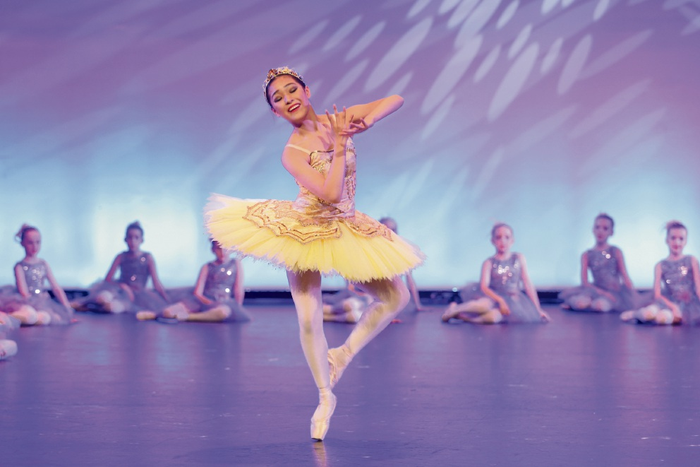 Jada Huang will go to Wellington to compete for a scholarship. Picture: DanceVision.TV