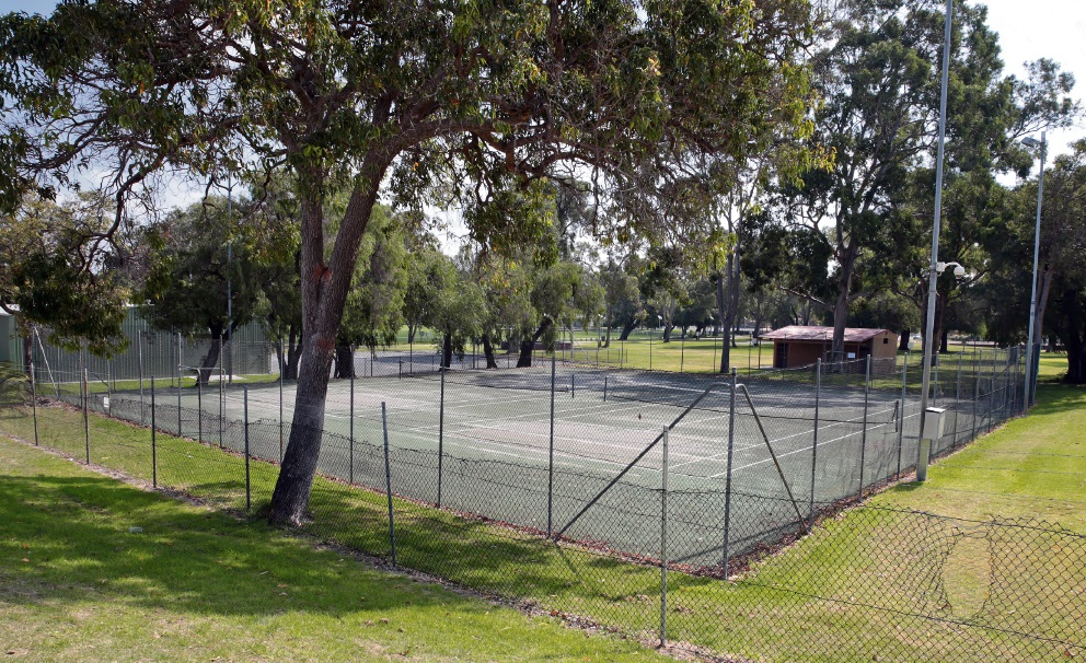 The Wanneroo Showground tennis courts will be moved.       d467853
