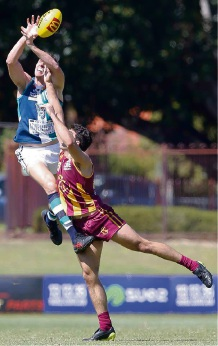 High-flying action in the WAFL grand final rematch at the weekend.