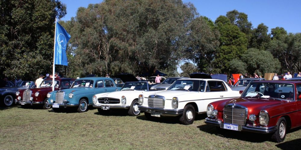Mercedes-Benz will be back for this year's Classic Car Show.