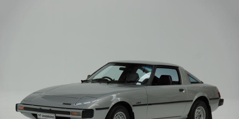 Rare trio of Mazda RX-7s to go under hammer