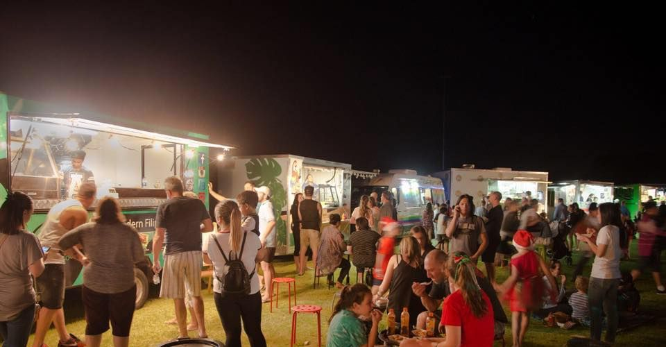 Shake Rattle and Bowl: Food trucks by the Swan