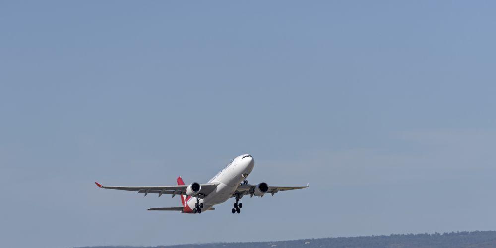 Perth Airport. Stock image.