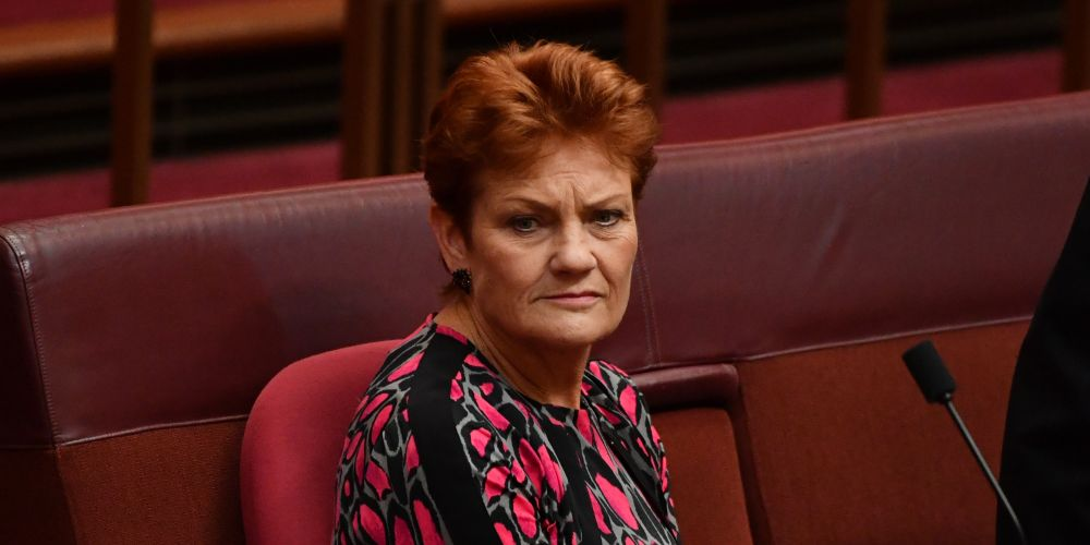 Senator Pauline Hanson. Photo: Getty