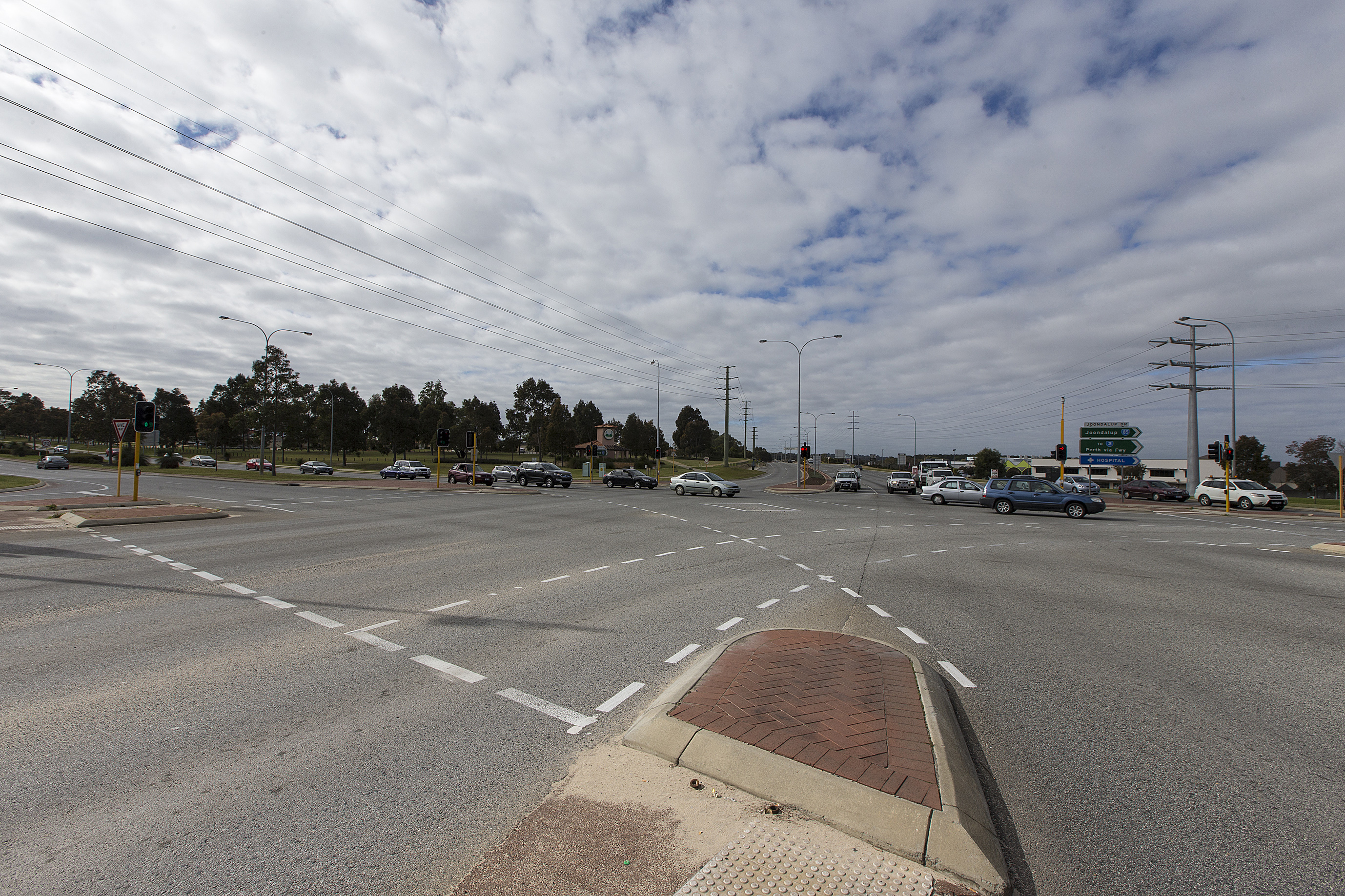 Wanneroo Road and Joondalup Drive intersection