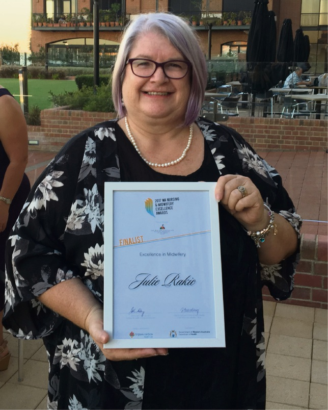 St John of God Midland Public and Private Hospital midwifery manager Julie Rakic.
