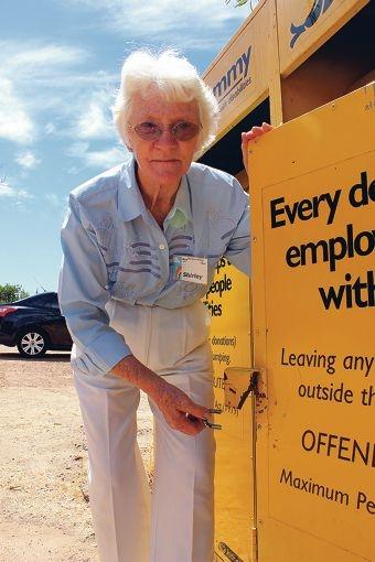 Mandurah volunteer Shirley Joiner has passed away