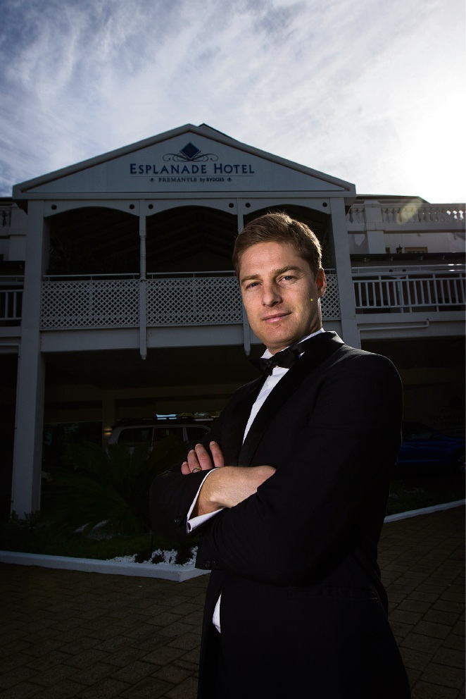 Fremantle Foundation chief executive Dylan Smith is keen to attract younger philanthrop-ists. Picture: Will Russell        d454608