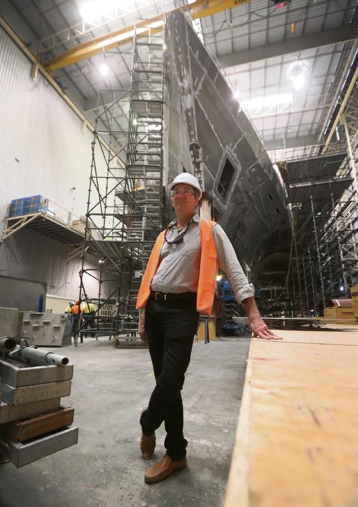 Echo Yachts director Mark Stothard. Picture: Matt Jelonek  d468002