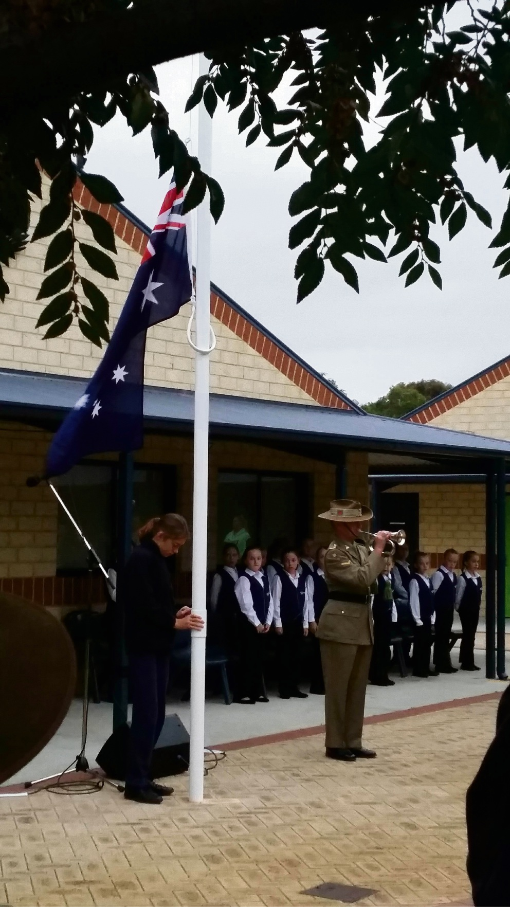 Wanneroo Primary School holds first dawn Anzac service