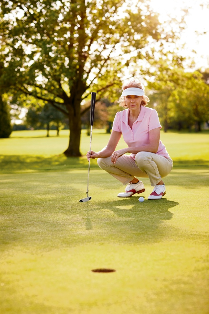 Golf has many health, social and business benefits