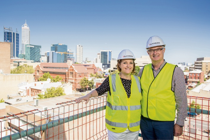 Blackburne's Oracle apartments to be finished ahead of schedule
