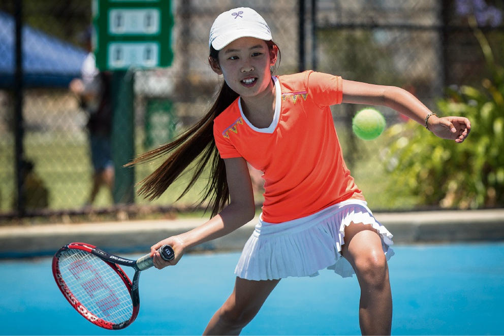 Juniors serve up great display at South Perth Lawn Tennis Club