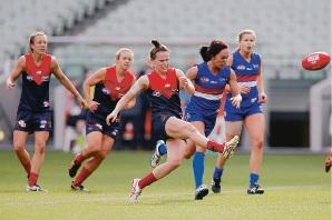 Kara Donnellan in an exhibition game last season.