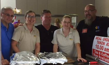 Mandurah soup kitchen receives meat treat from AMWU
