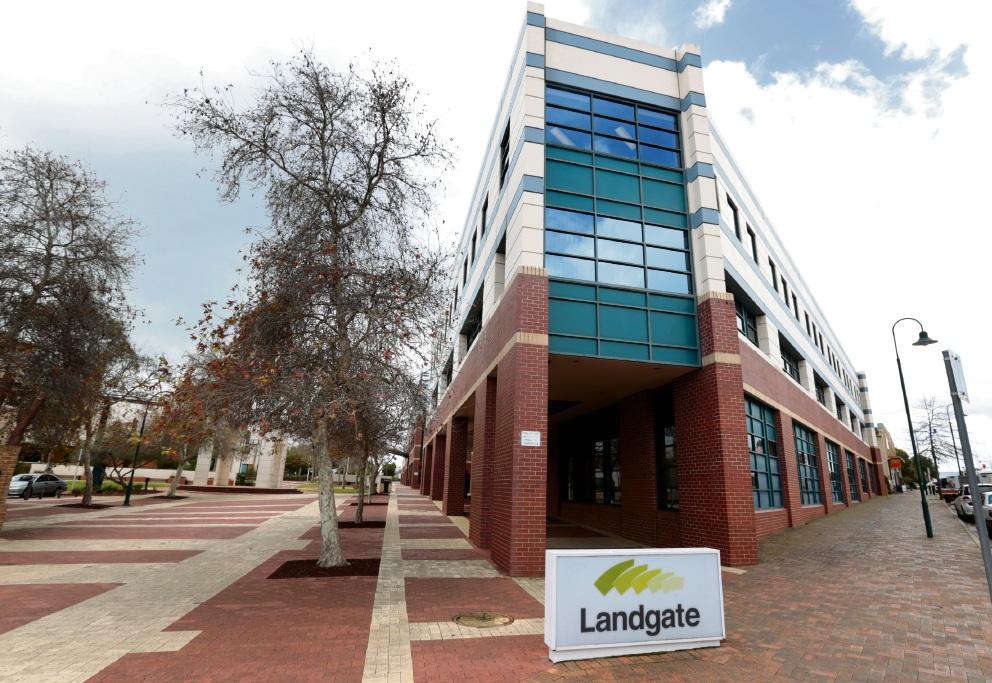 Landgate building in Midland. Picture: David Baylis