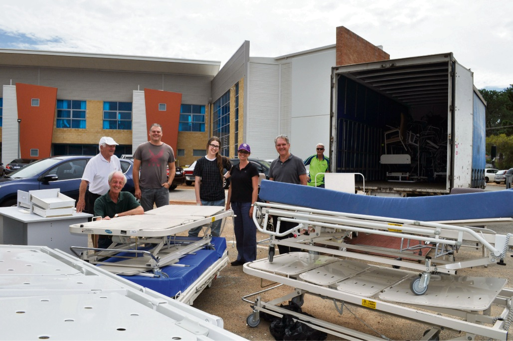 Bentley: SwanCare medical equipment on way to help people of Somaliland