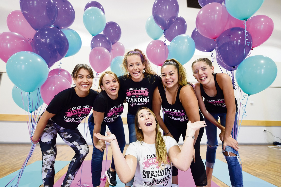 Teen fitness group Girls Standing Strong builds confidence