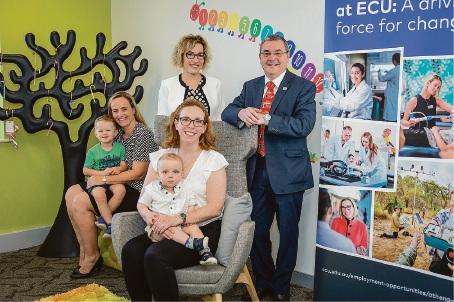 ECU Joondalup creates new parenting room to help bridge gender gap