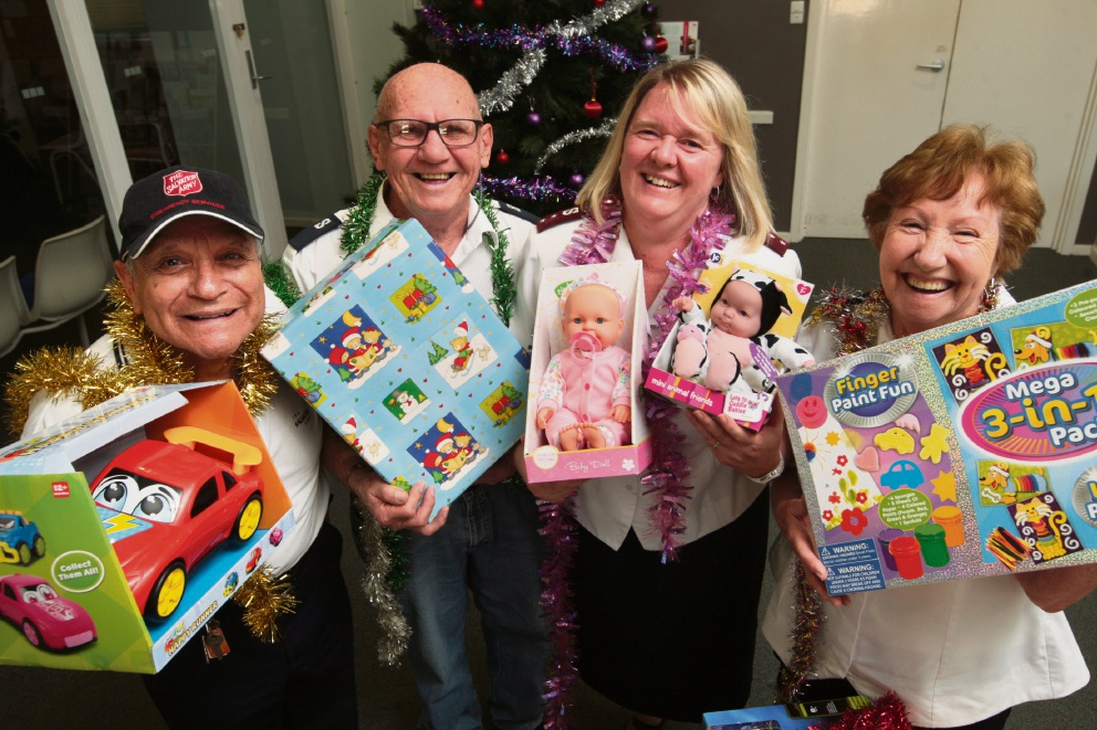 Heathridge resident urging others to get behind The Salvation Army Christmas appeal
