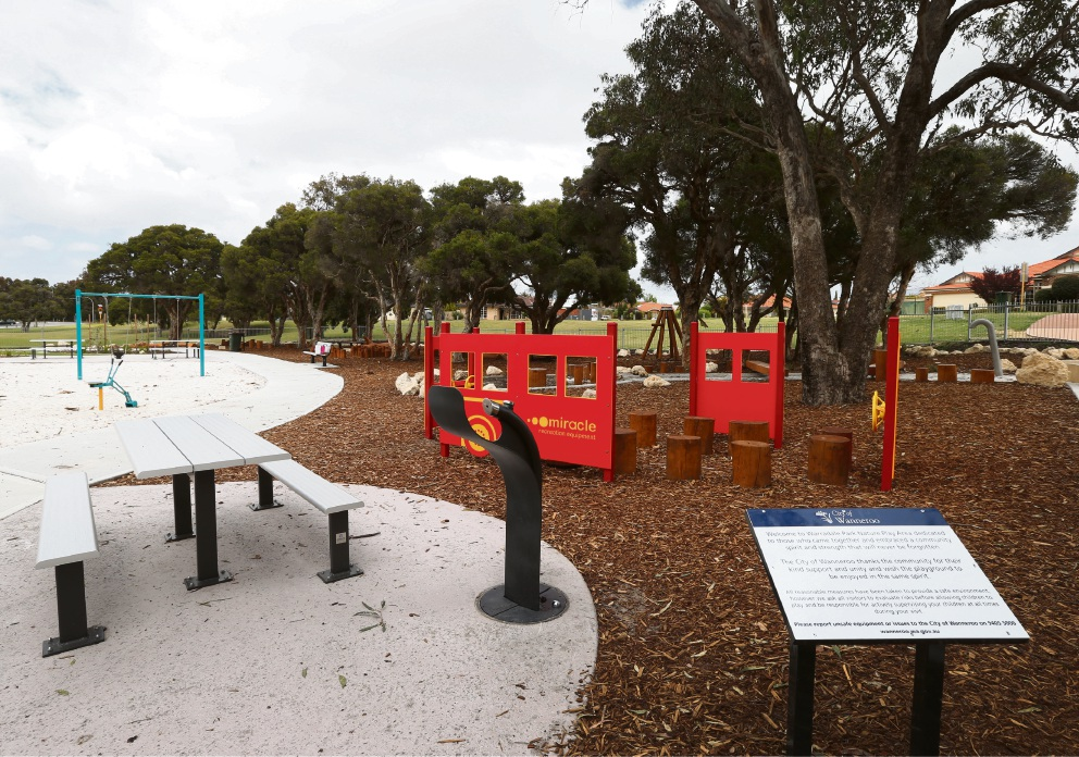 Trott family to attend the unveiling of Sam's Memorial Playground