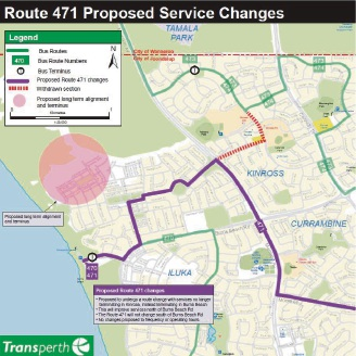 Burns Beach residents to have better bus services after 471 route is extended