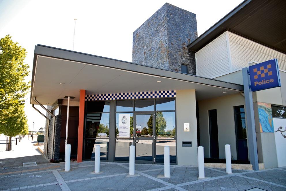 Ellenbrook Police Station.