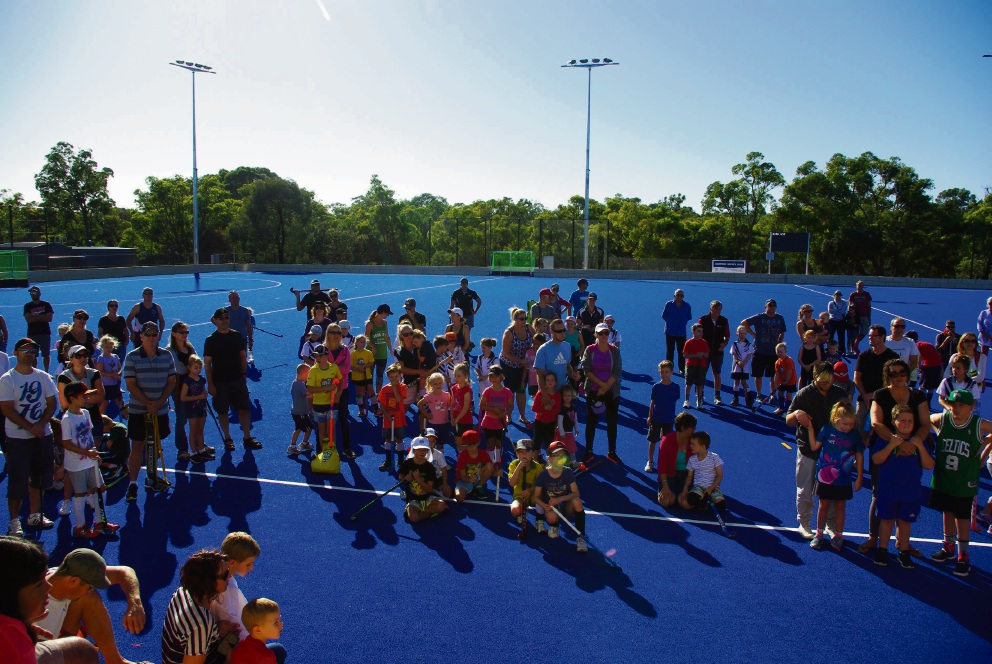 Whitford Hockey Club holds open day at Warwick centre