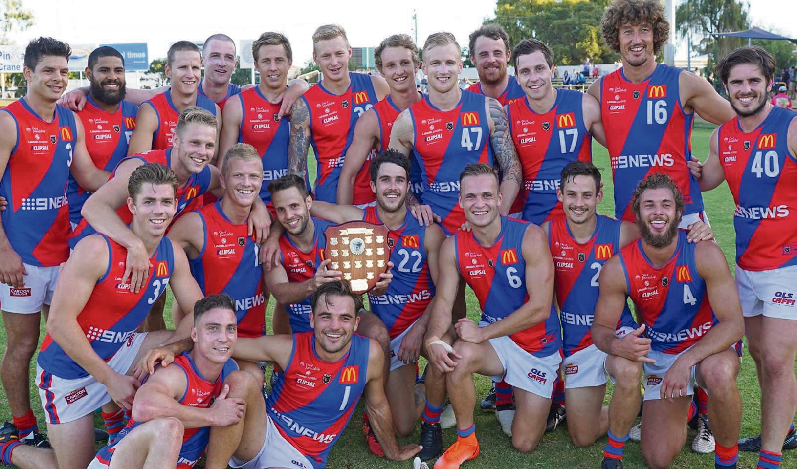 West Perth won the Charity Shield over Peel. Picture: Matt Beilken