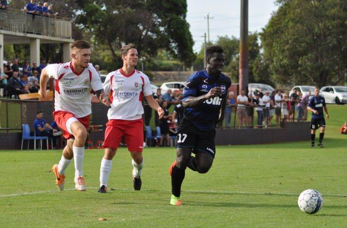 ECU Joondalup drew with Bayswater City last weekend. Picture: Peter Simcox
