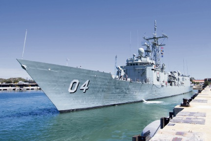 Tourism Minister Paul Papalia is open to the possibility of HMAS Darwin becoming a floating museum after it is decommissioned from the navy later this year.
