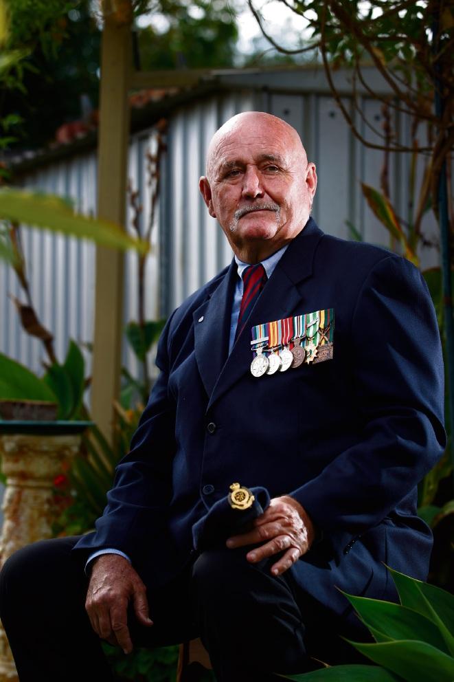 Battle 'between the ears' ongoing for returned war veteran