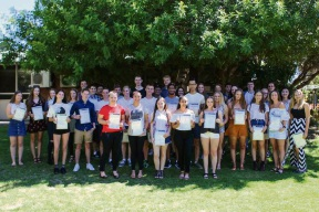 Back to school for top Duncraig SHS graduates