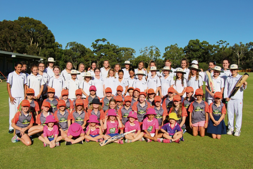 More than 100 girls have registered to play for the Wembley Districts Junior Cricket Club this season.