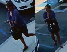 Woman wanted in connection with credit card fraud