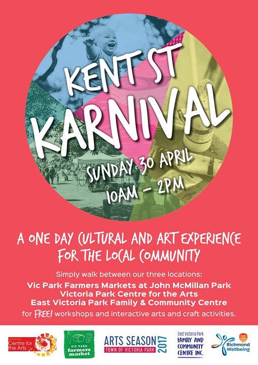 Kent Street Karnival on this Sunday