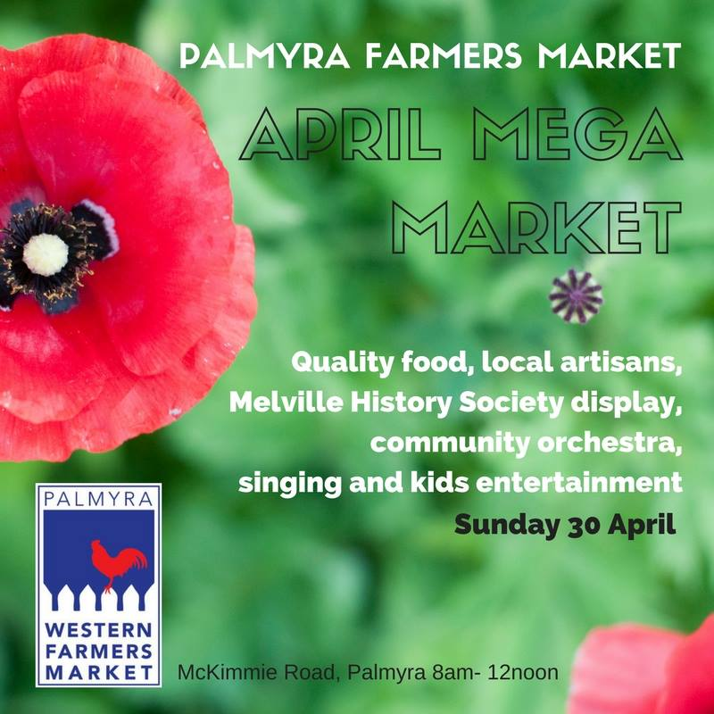 Palmyra Farmers Market's April Mega Market this weekend