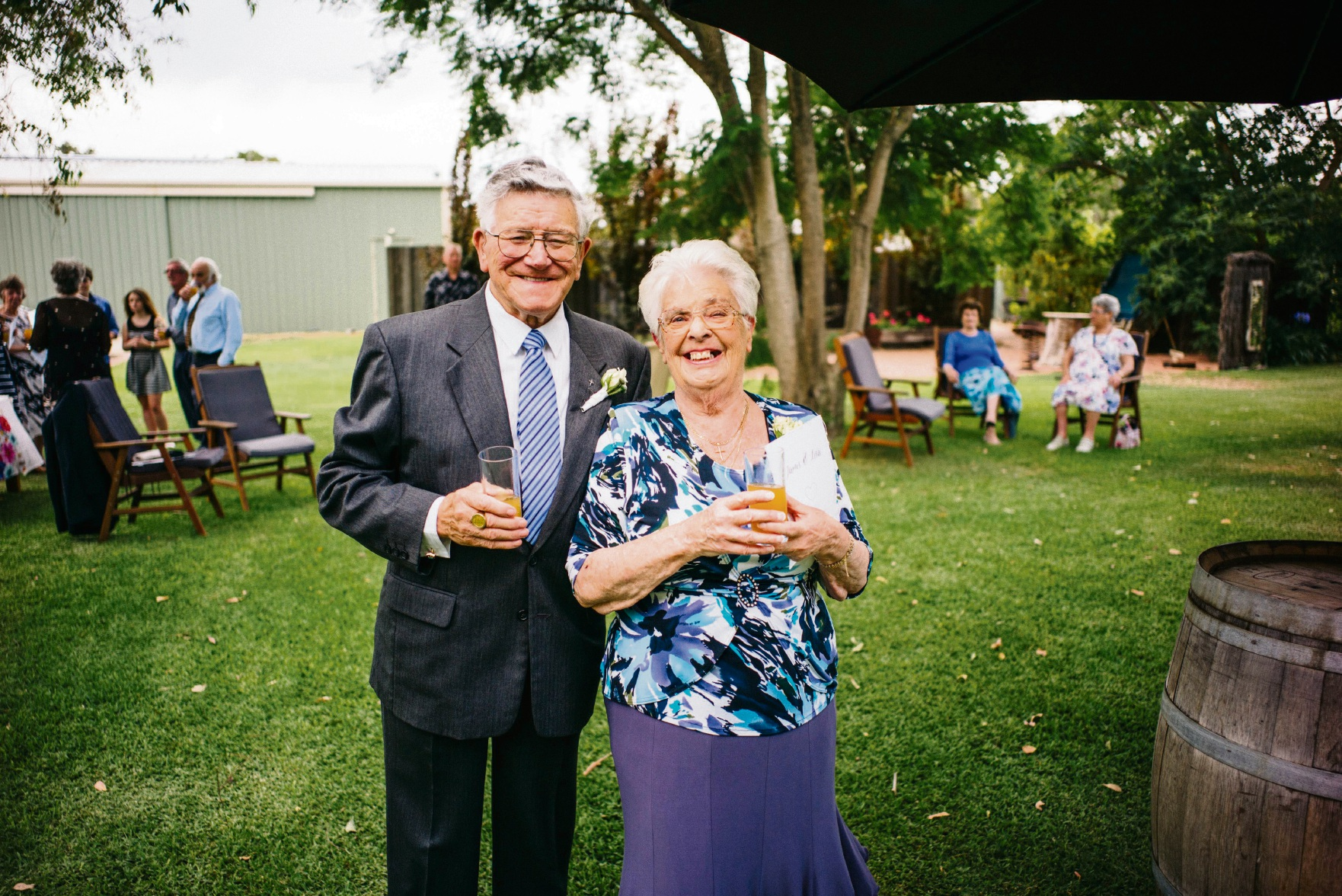 Proud Aussies... Jack and Zena Brody are celebrating 50 years of living in Australia.