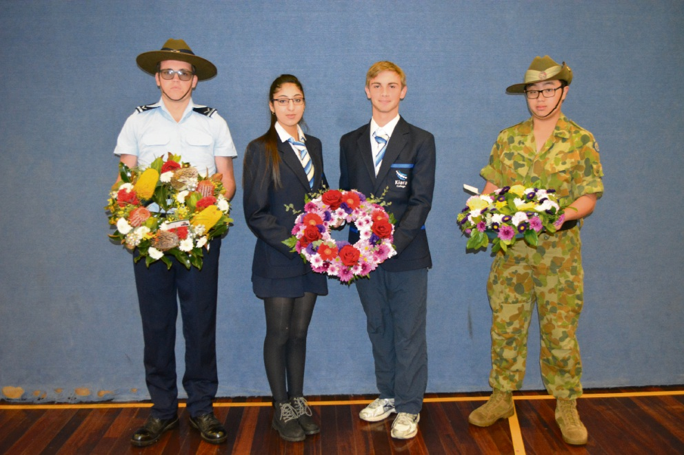 Kiara College students embrace Anzac spirit