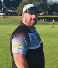 Rockingham Sharks coach Darren Shaw.