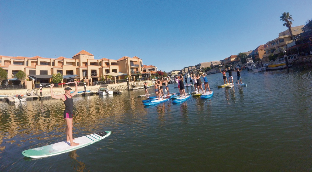 Stand Up Paddle Perth standing up to domestic violence